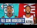HORNETS at BLAZERS | FULL GAME HIGHLIGHTS | January 13, 2020