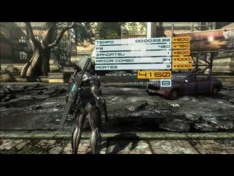 Vamos jogar Metal Gear Rising (Mission 01 Part 1)