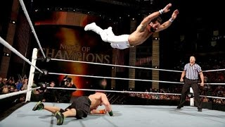 John Cena VS Seth Rollins Full Match Night of Champions 2015