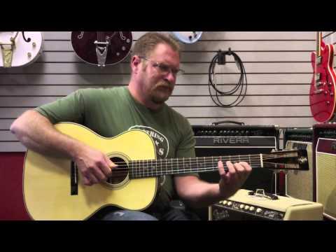 Martin OMM John Renbourn Custom Artist Edition Acoustic Guitar