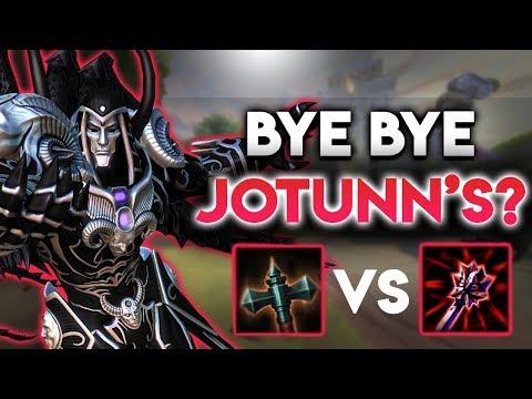 Did The Transcendence Buff Make Jotunn's Wrath Worthless? (SMITE Season 5)