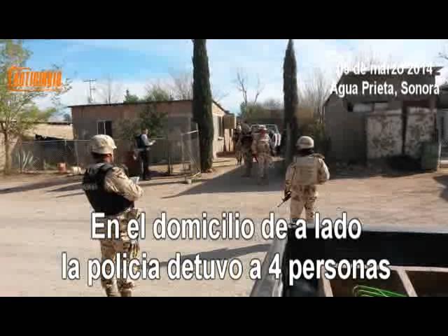 Tremenda balacera sigue violencia por la Plaza de Agua Prieta 4 victimas colaterales notidiario