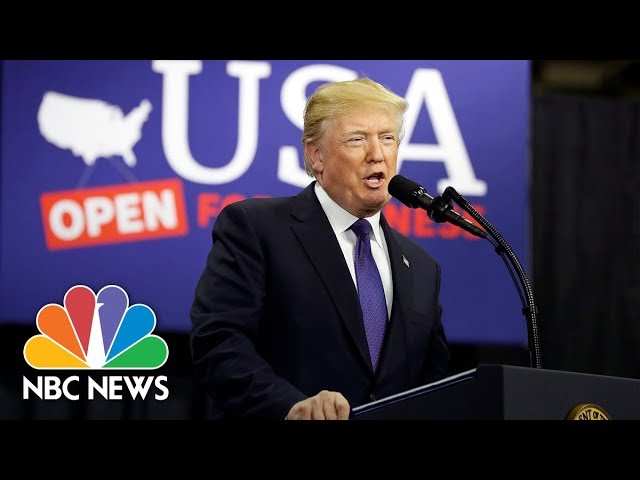 President Donald Trump Delivers Remarks On Infrastructure To Ohio Union Workers | NBC News