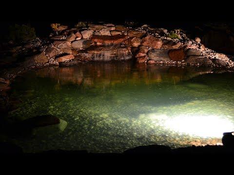 пруд и водопад своими руками , tvenkinys su kriokliu kieme