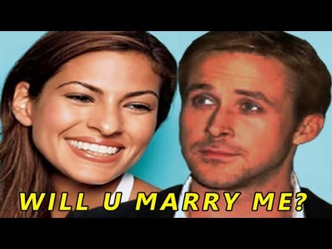 Ryan Gosling PROPOSES to Eva Mendes