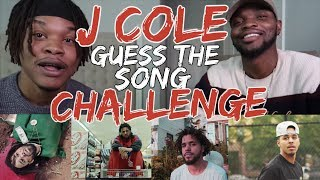 J COLE EDITION: GUESS THE SONG? (PT. 2) | PERFECT SCORE?