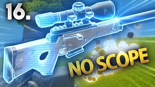 CRAZY No Scope Snipe! | Fortnite Battle Royale Moments Ep.16 (Fortnite Funny and Best Moments)