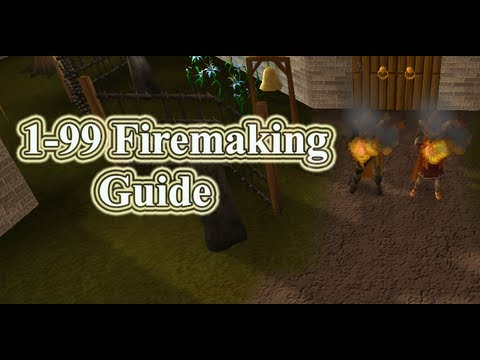 Runescape 1-99 Firemaking Guide 2012 by Maxing Up