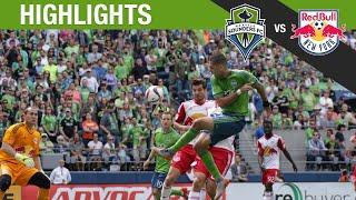 Highlights: Seattle Sounders FC vs New York Red Bulls