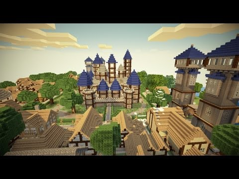 Kingdom Of Verona - Minecraft Medieval Map Download