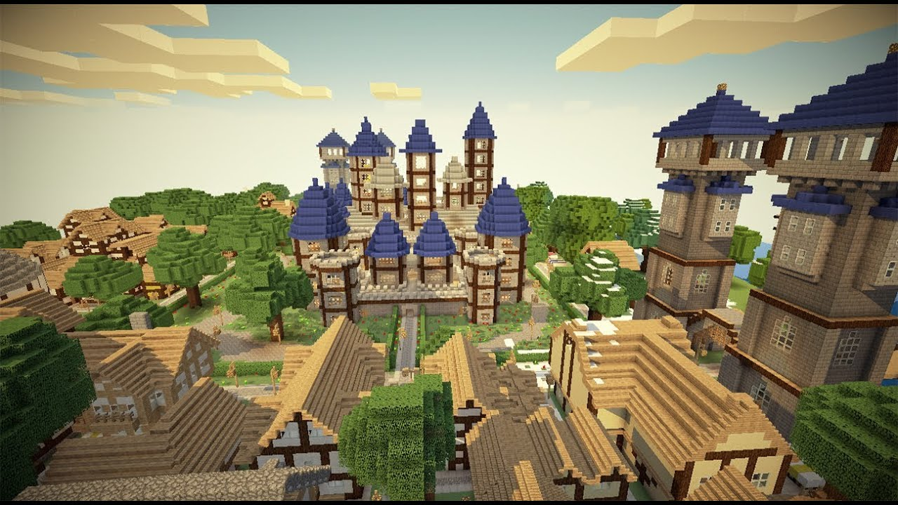 Kingdom Of Verona Minecraft Medieval Map Download Youtube