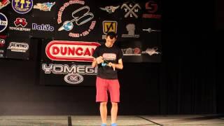 Janos Karancz champion en YOYO