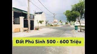 Cát Tường Phú Sinh - Đất Nền Dao Động Từ 500 - 600 Triệu.. Nhiều Vị Trí Đẹp