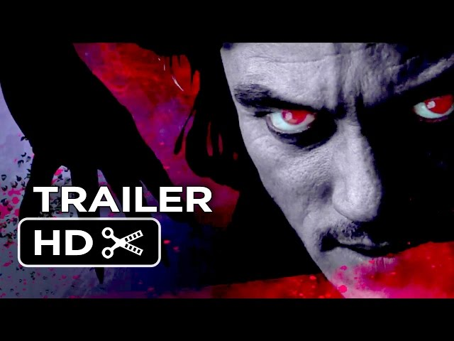 Dracula Untold Comic Trailer (2014) - Luke Evans Movie HD