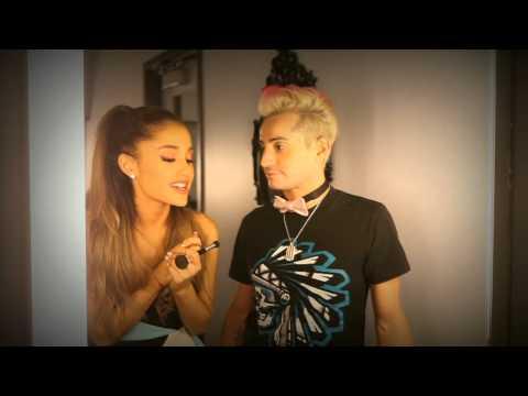 Frankie Grande Interviews Ariana Grande Backstage - AMAs 2014