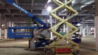 擎億高空作業車-New Samsung factory in Vietnam - Hire many Scissor Lifts - Xe Nang Nguoi