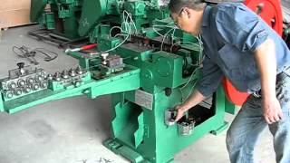 Automatic Nail Making Machine(Ada Cao:salesh@htwiremeshmachine.com)