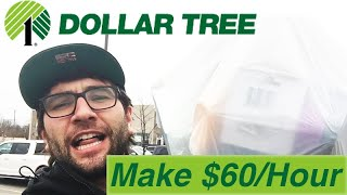 $60/HOUR! JUST FOR SHOPPING AT DOLLAR TREE! RETAIL ARBITRAGE CHALLENGE!