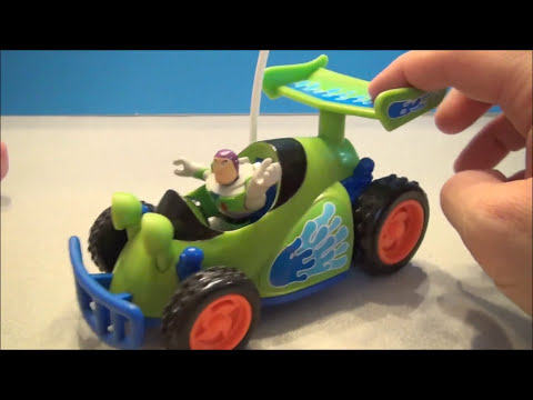 DISNEY PIXAR TOY STORY RC IMAGINEXT TOY VIDEO WITH BUZZ LIGHTYEAR