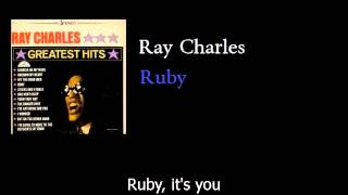 Watch Ray Charles Ruby video