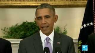 أوباما:  الحرب ضد تنظيم الدولة الاسلامية ستكون خاطفة ومرهونة بظروف محددة