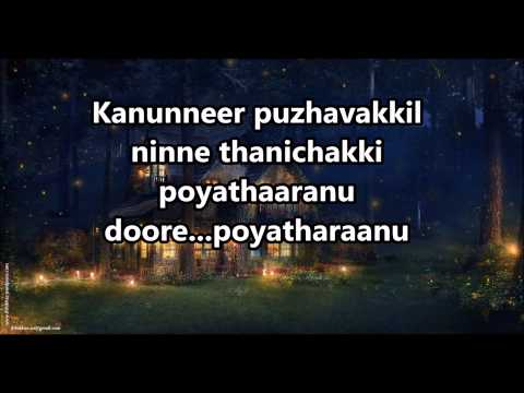 Minnadi Minnadi Minnaminunge Karaoke With Lyrics video