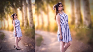 Photoshop Tutorial | How To Adding Blur and Soft Light Effect(Editing Outdoor Photo)