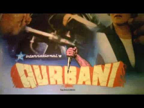 HINDI FILM  QURBANI SONG AAP JAISA KOI NAZI HASSAN MUSIC BIDDU...
