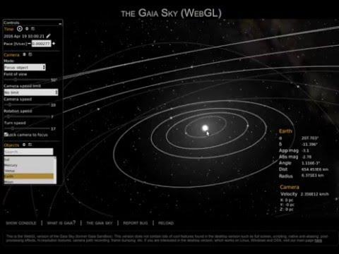 Gaia Sky - WebGL versions