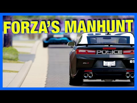Forza Horizon 3 Online : MANHUNT!!