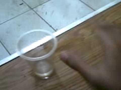 Sulap Bukan Sihir gelas plastik bergerak sendiri...(Baca Dekripsinya cuy..!).