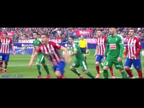 Atletico Madrid all goals - 2015/2016