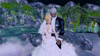 Lord & Lady Ravenwood  Second Life Wedding - 10.7.16