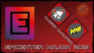 Virtus.Pro vs Navi / Bo5 / EPICENTER Major 2019 CIS Closed Qualifier / Dota 2 Live