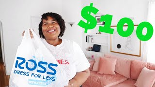 I SPENT $100 AT ROSS + MADE 5 OUTFITS | AND I GET DRESSED