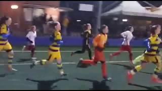 Femminile, Juniores Under 19, 9^ Gior: San Paolo-Parma, ingresso squadre in campo
