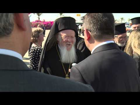 May 23, 2014: Ecumenical Patriarch Bartholomew Arrives in Israel to Meet with Pope Francis
