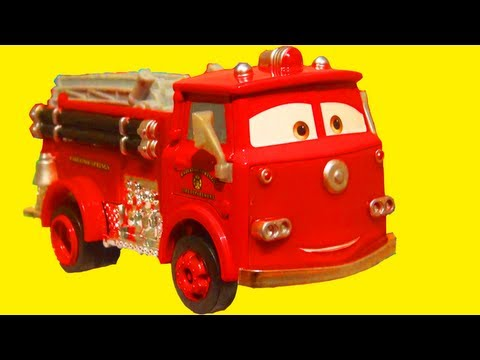 Photo on Disney Pixar Cars 2 Red Deluxe Oversized Diecast Cars 2 Toy Review