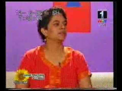 Jeyanthy Siva talks about NVC on Sri Lanka TV - part 1 of 3