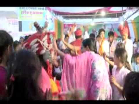Main Nachna Shyam De Naal By Jhanki Shri Shyam Art Grup Ellenabad By Holi2014 video