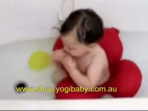 papillon baby toddler bath tub ring seat youtube. Black Bedroom Furniture Sets. Home Design Ideas