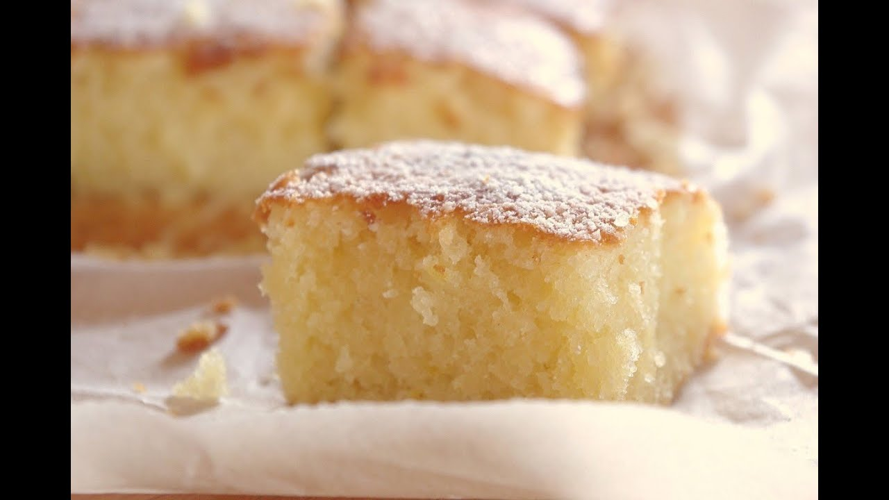 Lemon Gateau Cake