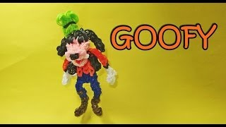 Rainbow Loom Disney: GOOFY Charm (Disney, Mickey Mouse Club House)