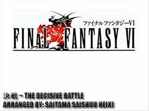 (VGM) Final Fantasy VI - The Decisive Battle ~ Doujin