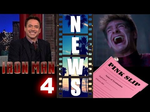 Robert Downey Jr confirms Iron Man 4?! Andrew Garfield out as Spider-Man?! - Beyond The Trailer
