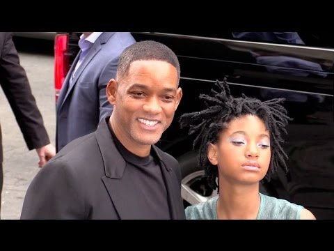 Will Smith and Willow Smith put on a super star show at Chanel Haute Couture in Paris