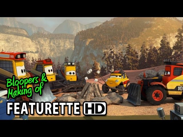Planes: Fire & Rescue (2014) Featurette - Smokejumpers