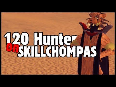 Runescape – 120 Hunter with skillchompas?