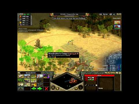 Let's Play Rise of Nations Multiplayer! Episode II: A slight bit more of awesome!