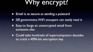 S-MIME email encryption: The Concept